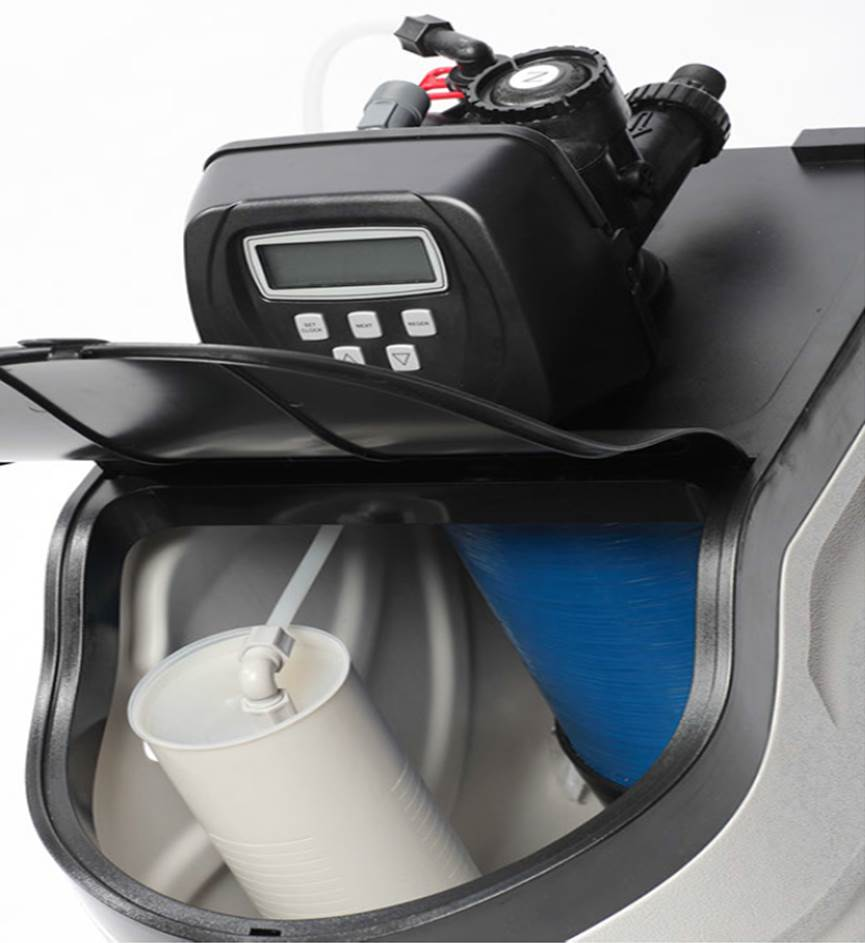 EcoSoft Water Softener - take a look inside!