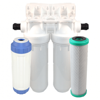 Osmio EZFITPRO-200 Undersink Water Filter Kit 15mm Push Fit