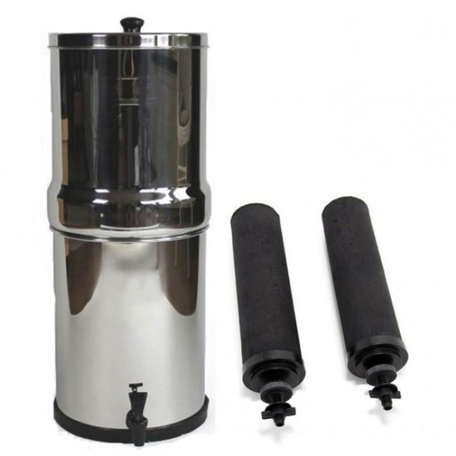 Berkey Water Filter Stand To Big Berkey 85 L Portable Gravity Water Filter System