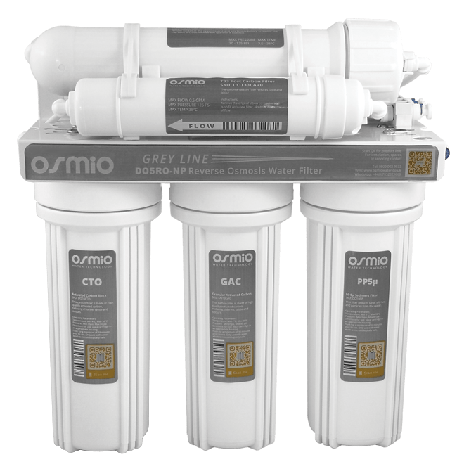 Osmio Grey Line 5-Stage Reverse Osmosis Water Filter
