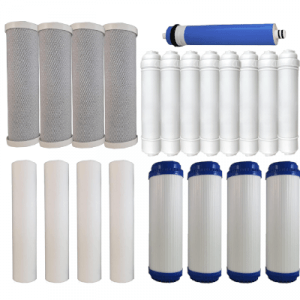 Osmio Grey Line 7 Stage 2 Year Replacement FIlter Bundle