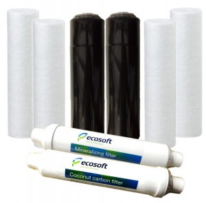 Ecosoft Reverse Osmosis 1-Year Bundle Pack (for 6 Stage Systems)