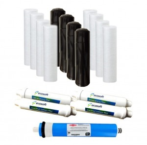 Ecosoft Reverse Osmosis 2-Year Bundle Pack (for 6 Stage Systems)