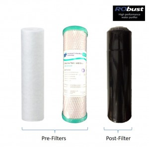 Ecosoft Robust Filter Pre and Post Filter Pack