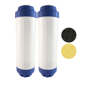 Osmio 2.5 x 10 Chlorine & Limescale Filter Dual Pack