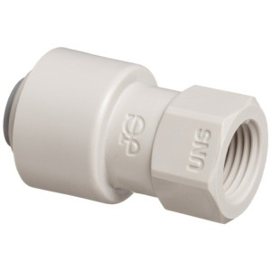 John Guest 3/8 Inch Push Fit to 7/16 UNS Female Thread
