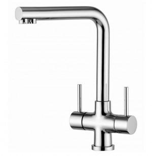 Osmio Mariella Chrome 3-Way (Tri-flow) Kitchen Tap