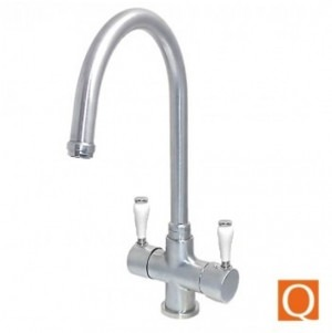 Osmio Victoria Brushed 3-Way (Tri-flow) Kitchen Tap