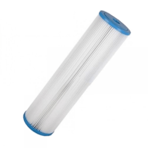 4.5 x 20 Inch 1 Micron Absolute Pleated Sediment Cartridge