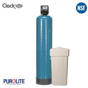 Purolite 100L Simplex Water Softener 14 x 65 Inch 67 LPM