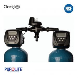 Purolite 60L Duplex Water Softener 12 x 52 Inch 40 LPM