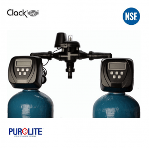 Purolite 75L Duplex Water Softener 13 x 54 Inch 50 LPM