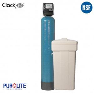 Purolite 40L Simplex Water Softener 10 x 44 Inch 27 LPM