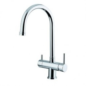 Osmio Sienna Chrome 3-Way Tap