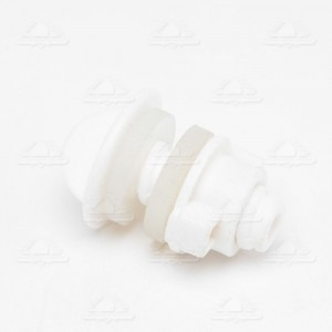 Stainless System White Blocking Plug