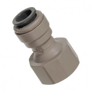 "3/8"" Push Fit to 1/2"" BSP John Guest Push Fit Tap Adaptor"