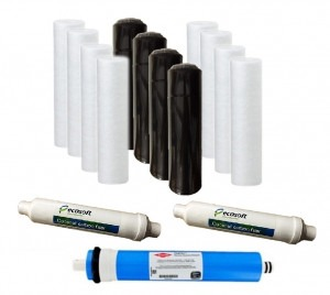Ecosoft Reverse Osmosis 2-Year Bundle Pack (for 5 Stage Systems)