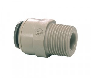 "DMFit 3/8"" Pushfit x 1/2"" BSP Male Straight Adapter"