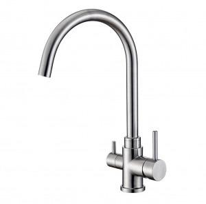 Osmio Bella 304 Stainless Steel 3-Way (Tri-flow) Kitchen Tap