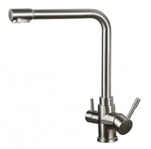 Osmio Fabia 304 Stainless Steel 3-Way (Tri-flow) Kitchen Tap