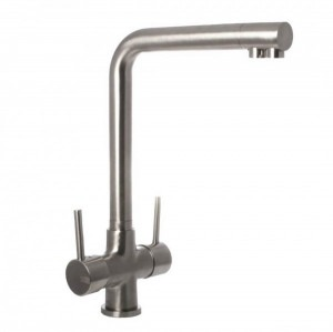 Osmio Mariella Brushed 3-Way (Tri-flow) Kitchen Tap