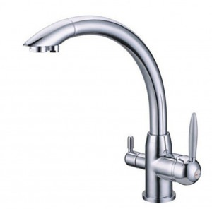 Osmio Vitalia Chrome 3-Way (Tri-flow) Kitchen Tap