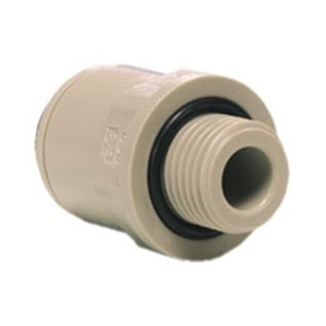 """3/8"""" Push Fitting to 1/4"""" Male Thread"""