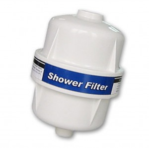 Puricom Ivory GAC KDF Inline Shower Filter