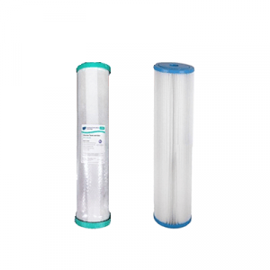 Replacement Filters for the Osmio Pro 4.5 x 20 Inch Whole House Water Filter System