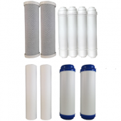 Osmio Grey Line 7 Stage 1 Year Replacement FIlter Bundle