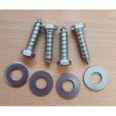 Set of 4 Mounting Screws for Large Diameter Housing
