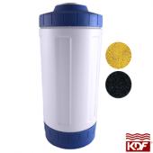 "Osmio 4.5"" x 10"" KDF and GAC Filter"