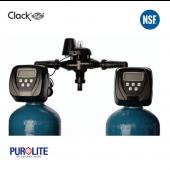 Purolite 50L Duplex Water Softener 10 x 54 Inch 33 LPM