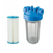 "Ultraviolet Pre-Filtration System 4.5"" x 10"" Clear"