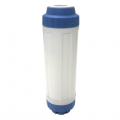 "Osmio Long Life 2.5"" x 10"" GAC-KDF-Remin Replacement Water Filter"