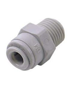 """1/4"""" Push Fitting to 3/8"""" NPTF Male Thread"""