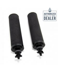 Black Berkey Water Filter Elements (Set of 2)