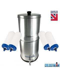 Coldstream Sentry Gravity Water Filter System with 4 Filters
