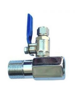 """1/2"""" Feed In Valve for 1/4"""" or 3/8"""" Tubing"""