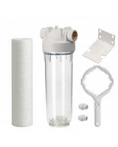 "Ultraviolet Pre-Filtration System 2.5"" x 10"" Clear"