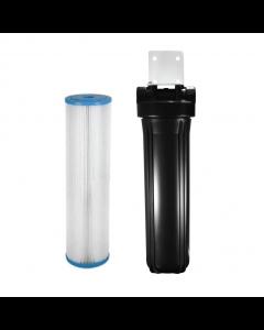 "Osmio Ultraviolet Pre-Filtration System 4.5"" x 20"" Black"