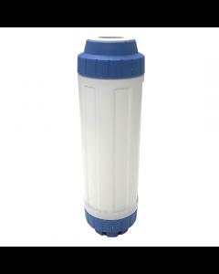 "Osmio Long Life 2.5"" x 10"" GAC-KDF-Remin Replacement Water Filter"