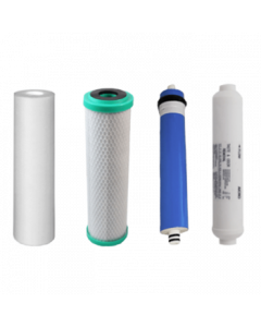 4 Stage Reverse Osmosis Water Filter Replacement Filters Starter Pack