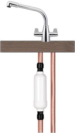 Osmio Eco-8 Inline Water Filter
