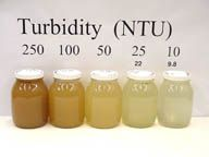 Turbidity in Water