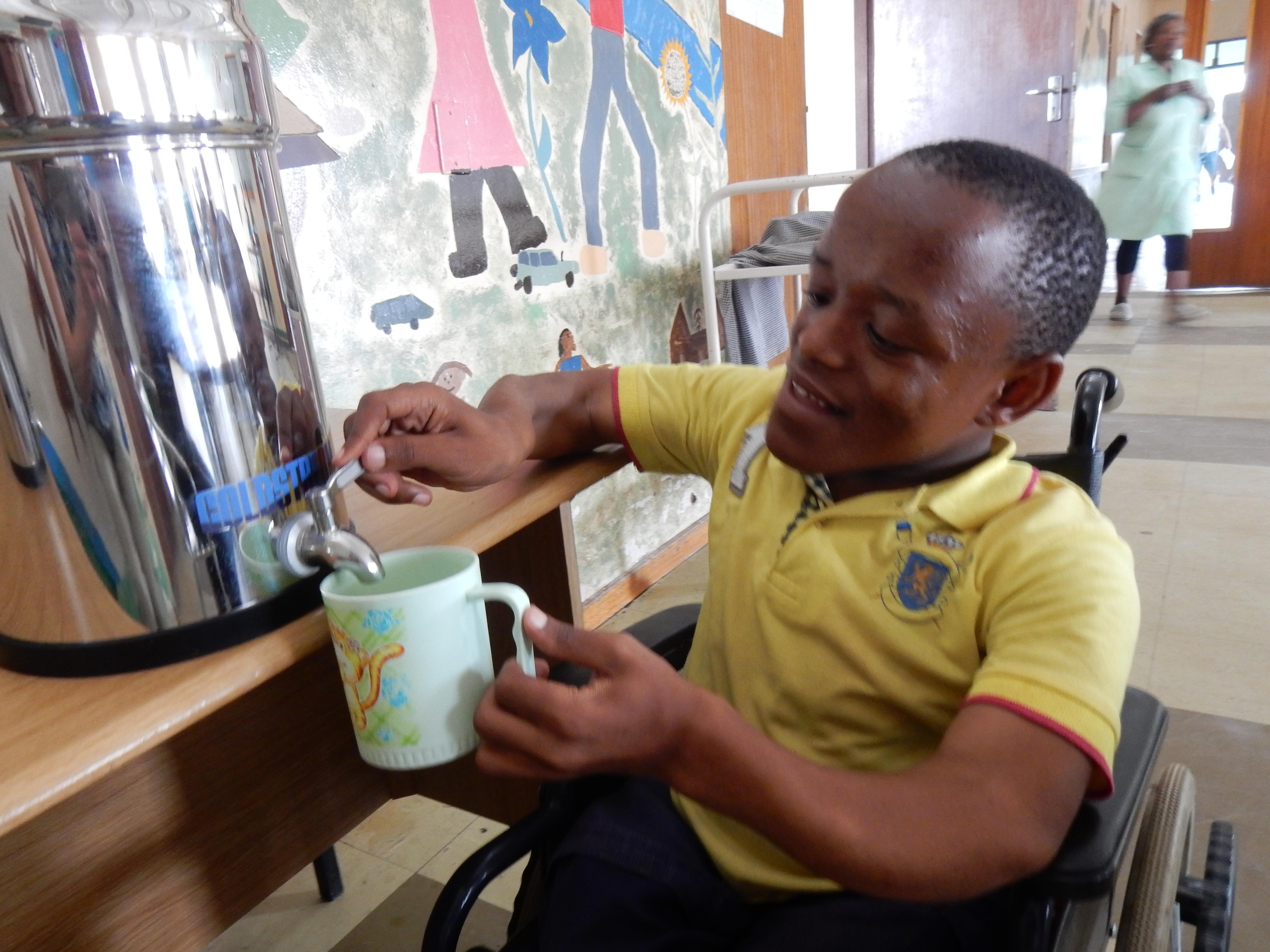 Osmio Water Charitable Fund St Angela Disabled Children