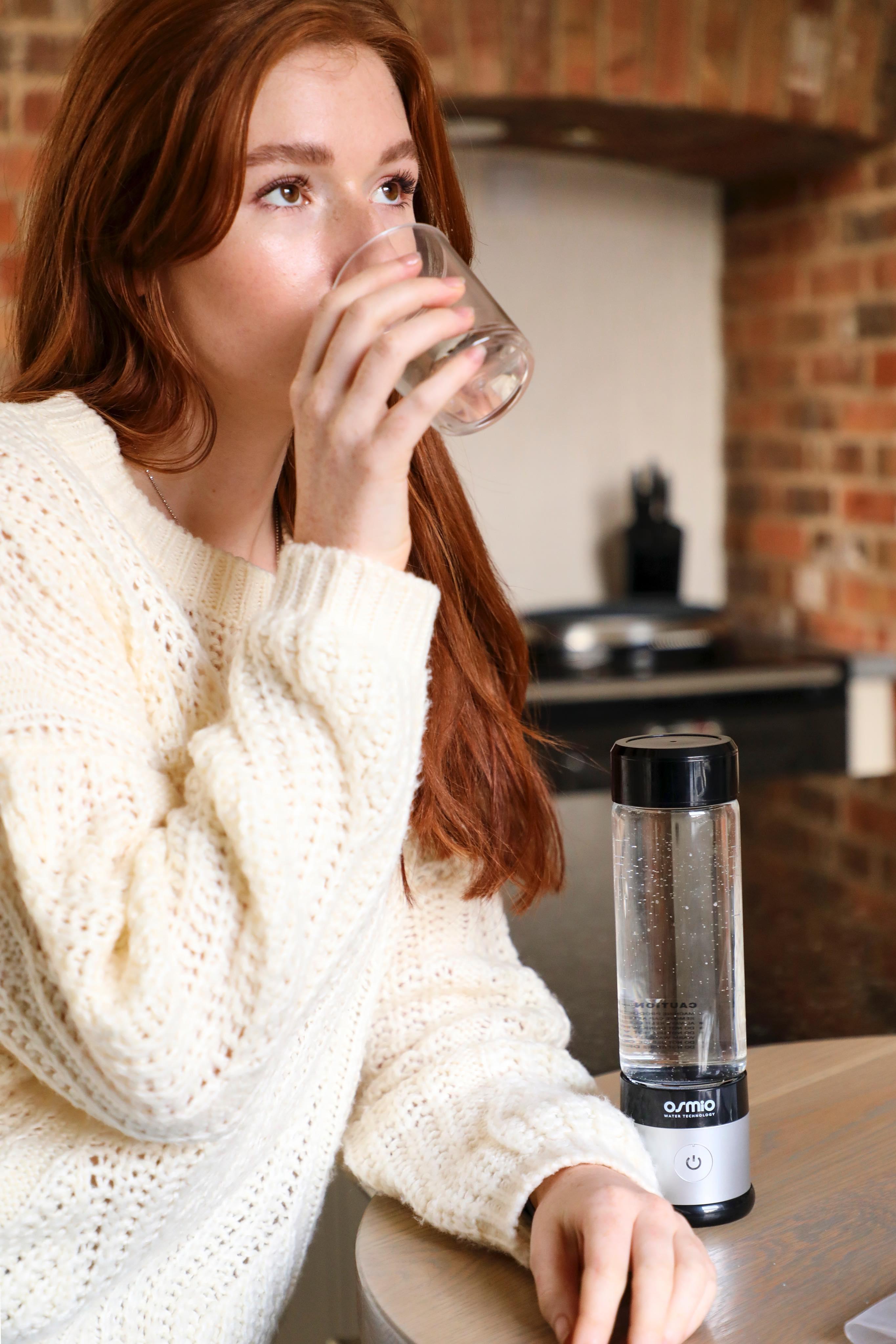 Osmio Hydrogen Water Bottle