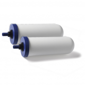 """Coldstream Sentry 2 Pack of FTO+ 2.9"""" x 8"""" Ceramic Gravity Water Filter"""