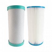 Replacement Filters Pack for Osmio Pro 4.5 x 10 Inch Dual Whole House System