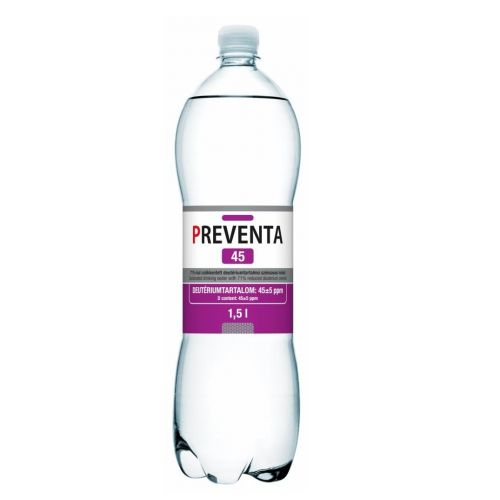 Preventa 45ppm Deuterium Depleted Water DDW Case (12 x 1.5L Bottles)